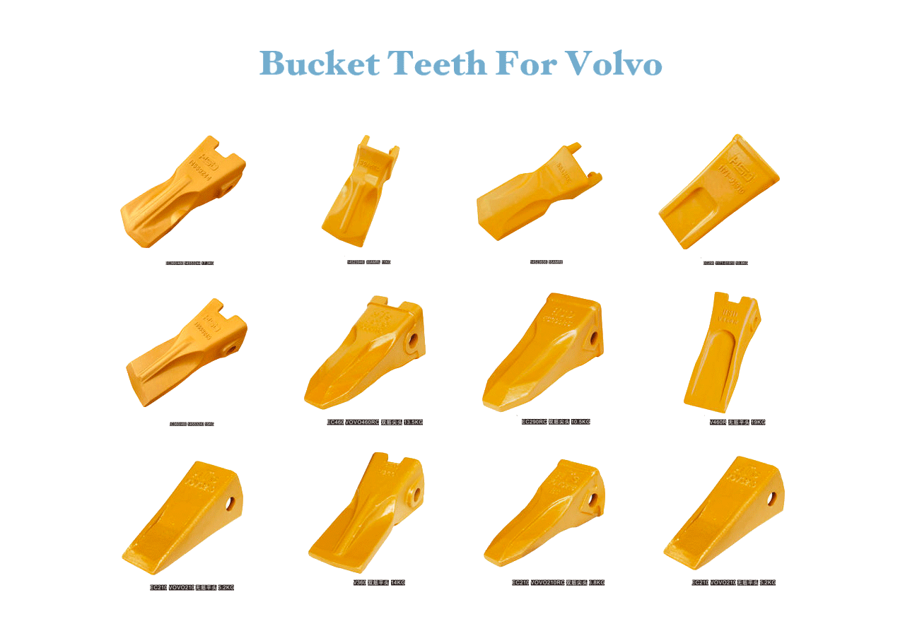 Bucket-Teeth-For-Volvo